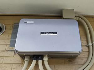 東日本大震災時に大活躍したO様邸の太陽光発電システムに、シャープ蓄電池の工事が完了!
