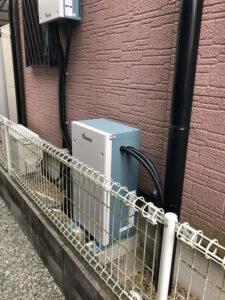 2サイクル!田淵電機 EIBS 4.0kWh蓄電池 施工事例