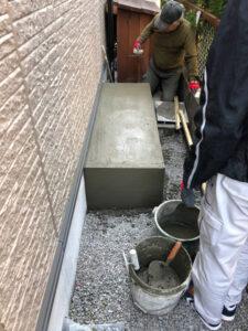 どれくらいの高さが必要?水害は大丈夫?蓄電池の基礎施工
