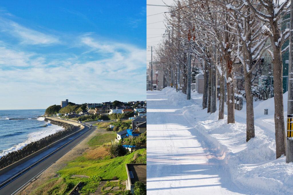 重塩害地域・積雪地域でも安心して設置可能