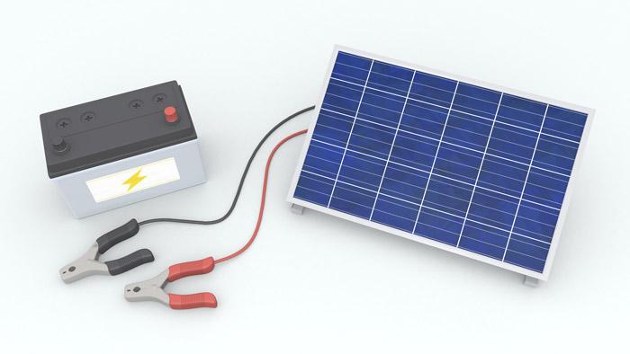 デメリット② 太陽光発電と連系時は効率が悪い