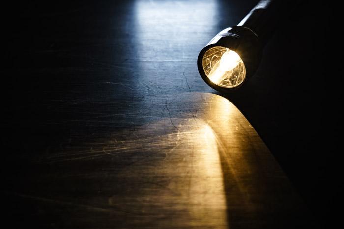 長期間に渡る停電の不安