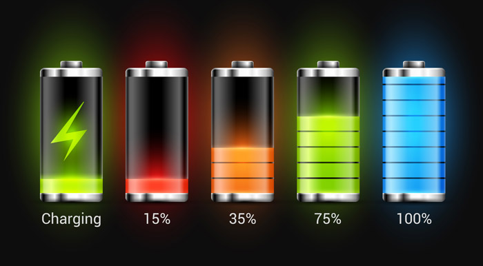 充電容量の自動制御機能
