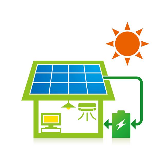 太陽光発電と蓄電池で節電効果を高める事が可能です