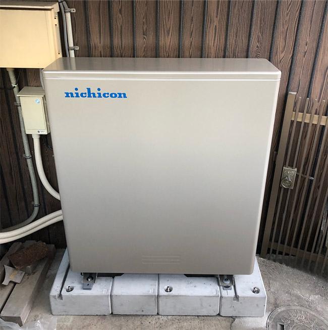ニチコン単機能蓄電システム11.1kWhの仕様