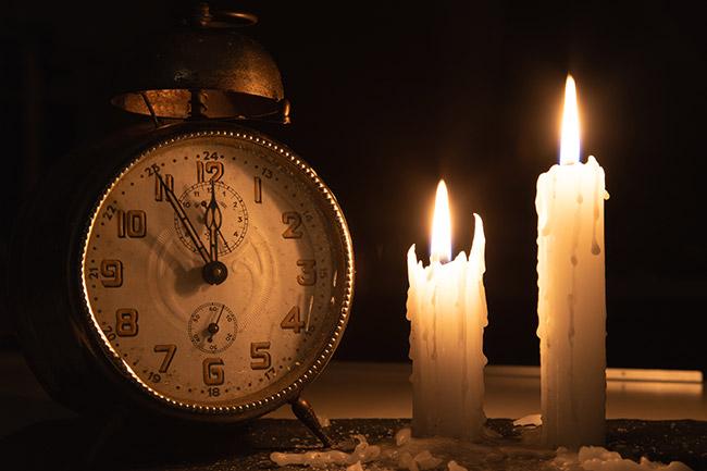 停電時の稼働時間を蓄電容量ごとに確認する
