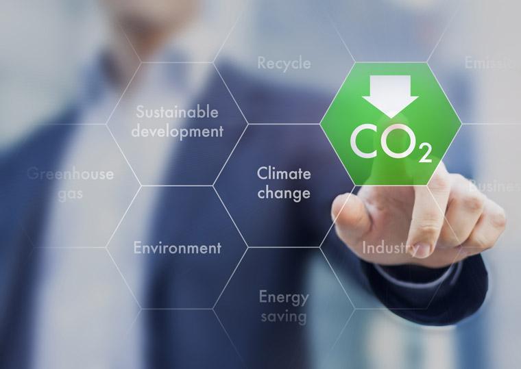 【メリット2】発電する際に二酸化炭素(CO2)などを排出しないので、環境にやさしい
